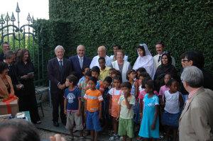 Incontro con il Presidente della Repubblica Italiana Giorgio Napolitano